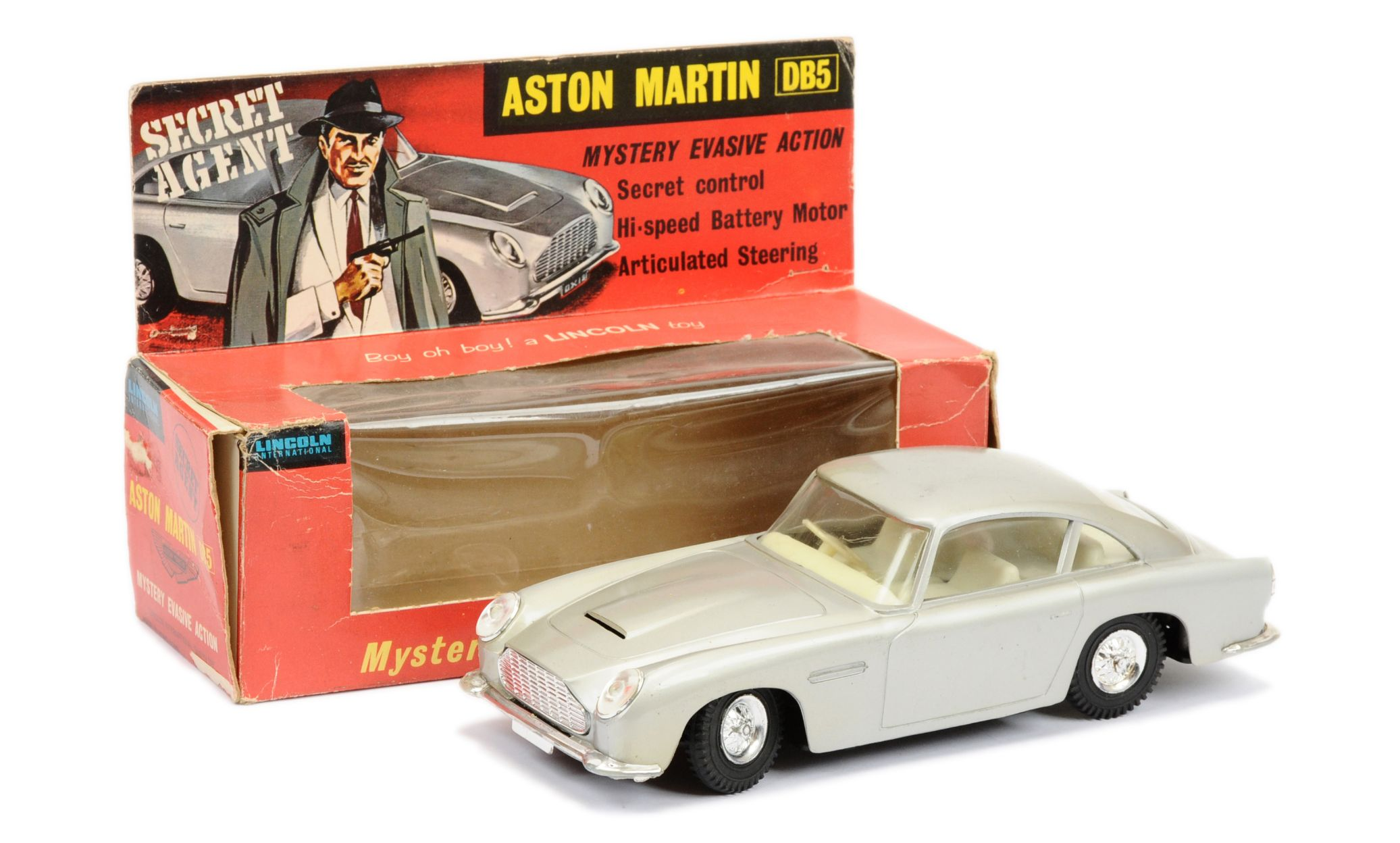 Lincoln (Hong Kong) Secret Agent Aston Martin DB5 15th January 2020 Lot 655