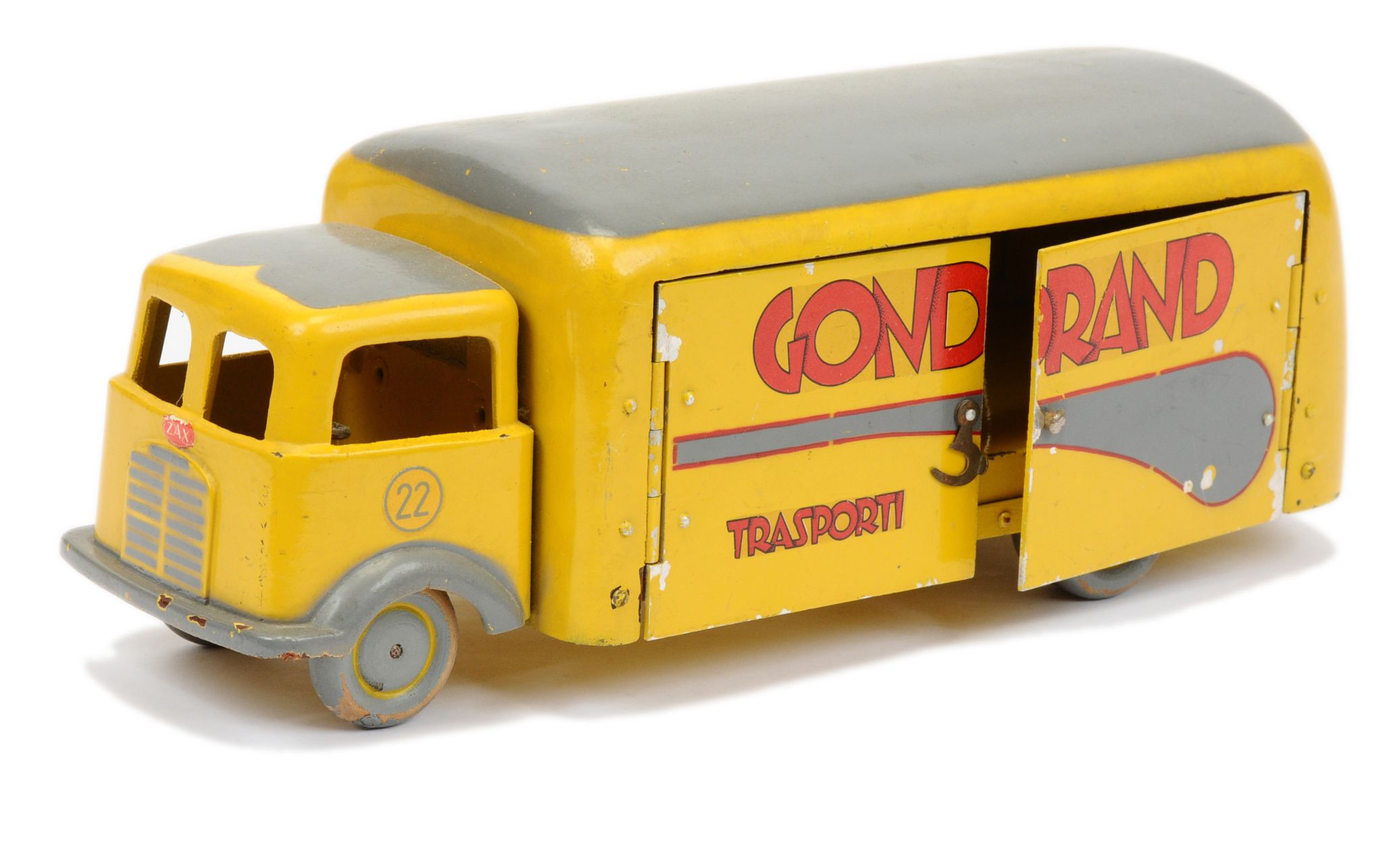 ZAX Toys (Bergamo Italy) Delivery Van GONDRAND 15th January 2020 Lot 657