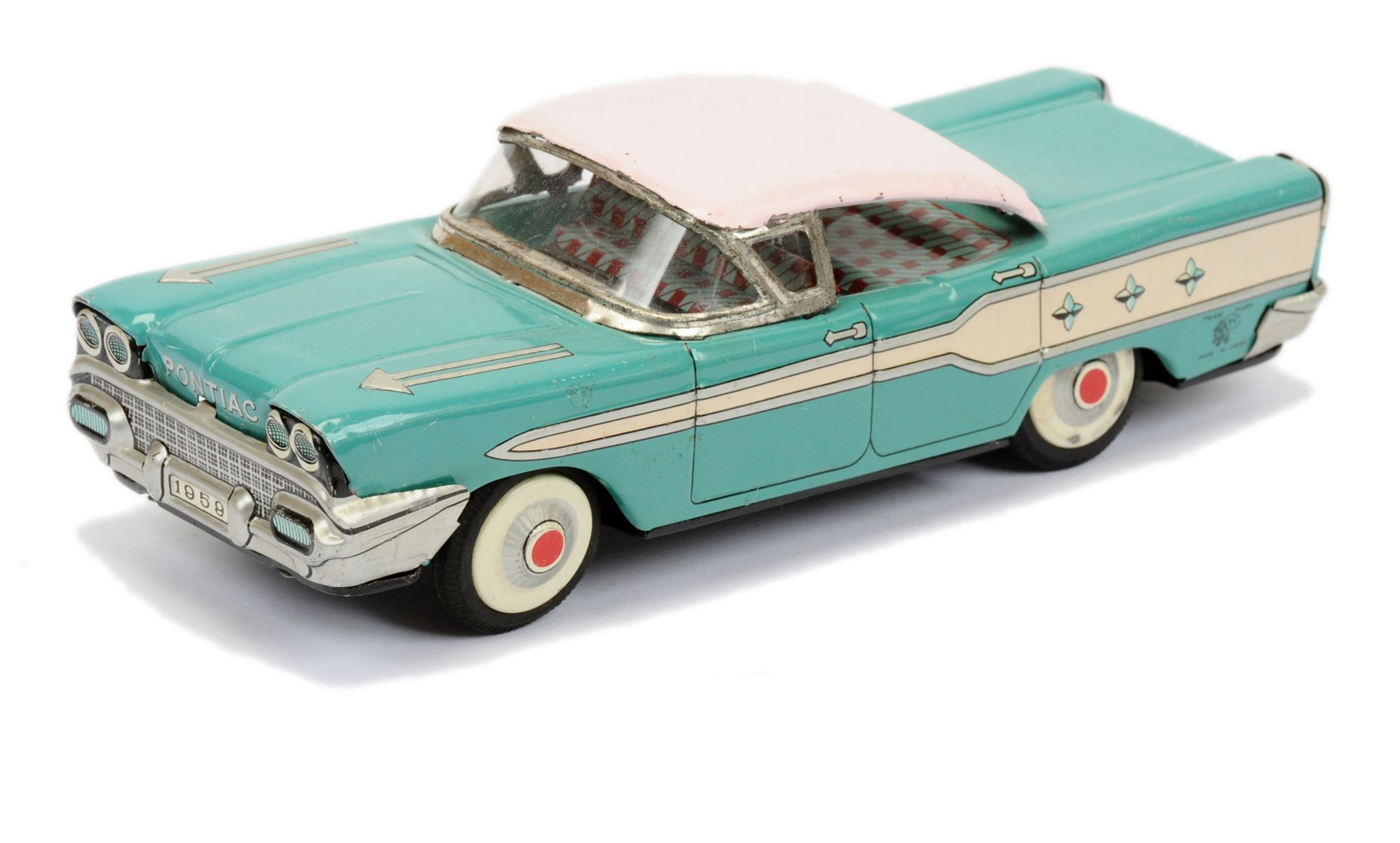 ATC (Japan) 1959 Pontiac Bonneville tinplate car  15th January 2020 Lot 659