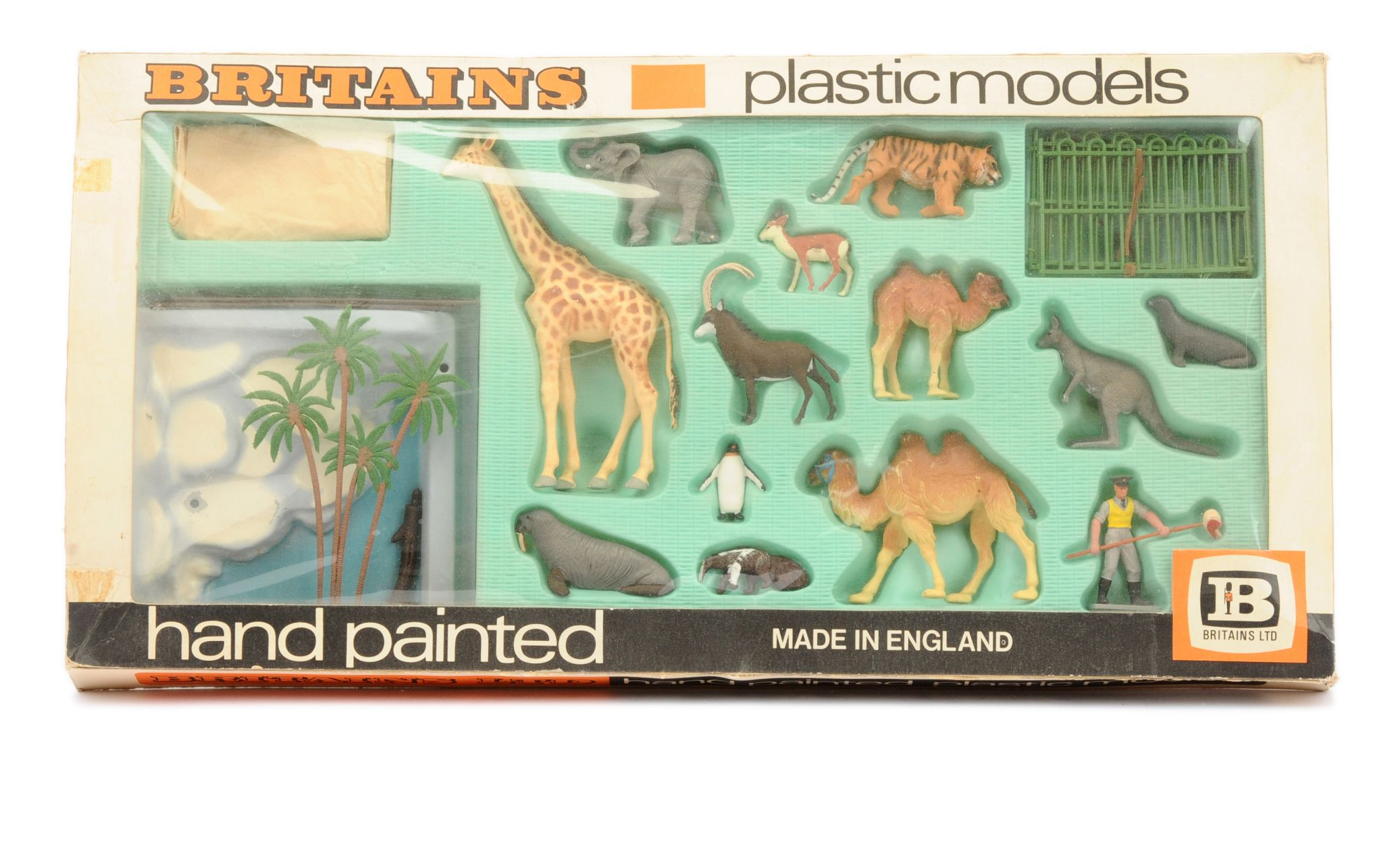Britains (UK) 7323 Zoo Models Presentation Set 15th January 2020 Lot 661